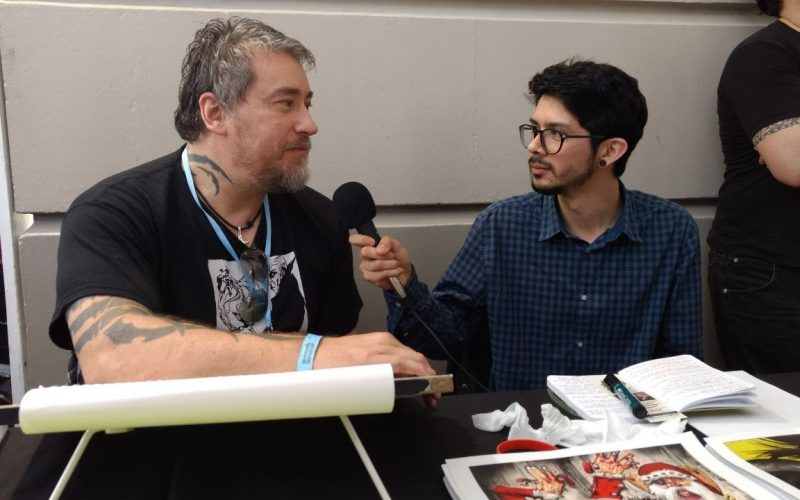 Simon Bisley @ Argentina Comic Con 2017